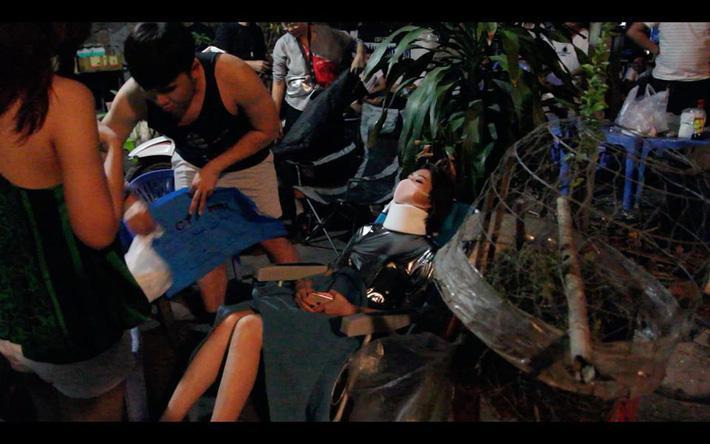 Thúy Ngân gặp tai nạn nghiêm trọng, bất tỉnh trên phim trường phải đưa đi cấp cứu-2