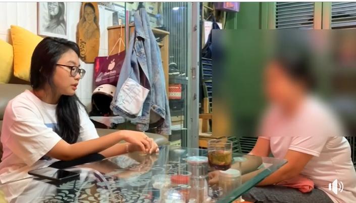 CLIP: Phương Mỹ Chi trực tiếp xử người phụ nữ trung niên nguyền rủa gia đình-1