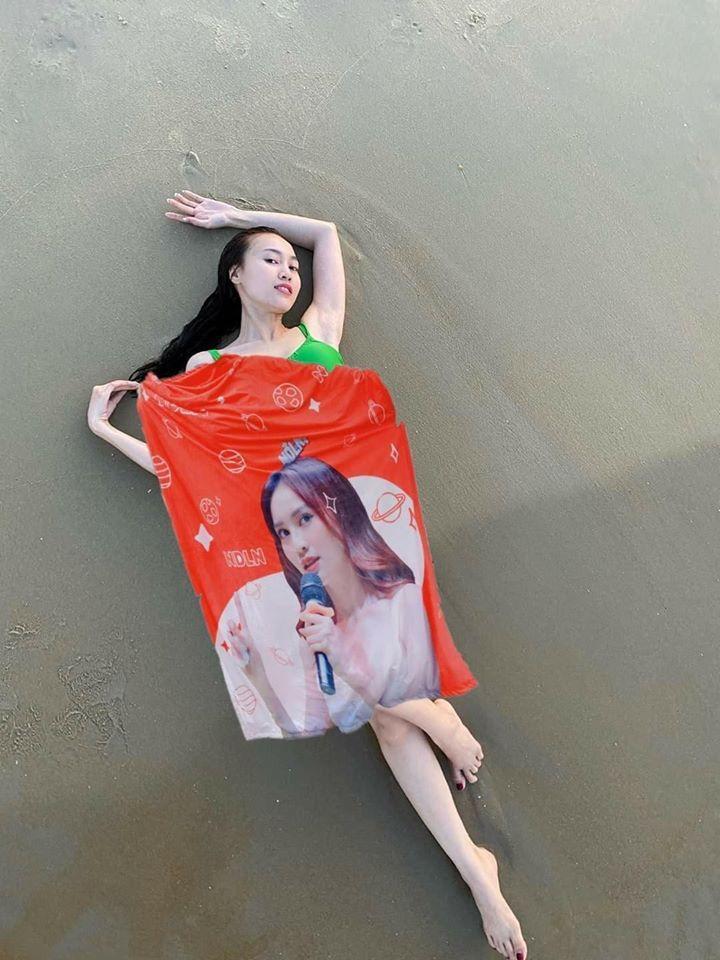 Ninh Dương Lan Ngọc khoe body với bikini nhỏ xíu liền bị fan chấn chỉnh-4