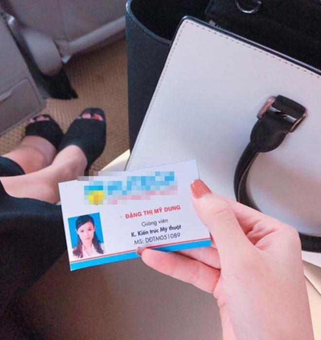 Lộ ảnh thẻ cực xịn trong vai trò giảng viên của Midu-1