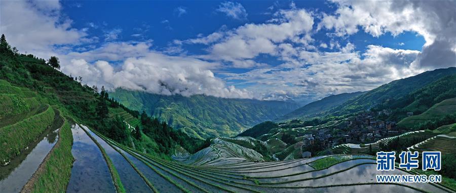 Mê đắm trước vẻ đẹp của những thửa ruộng bậc thang mùa hè tại miền sơn cước Trung Hoa-5