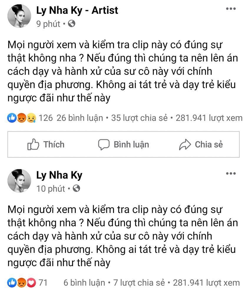 Sao Việt phẫn nộ với clip sư cô trụ trì tát liên tiếp vào mặt phật tử vì yêu thương, răn dạy-4