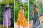 Kỳ Duyên - Lưu Hương Giang mê mẩn váy bay bổng như 'mẹ bầu' chào hè