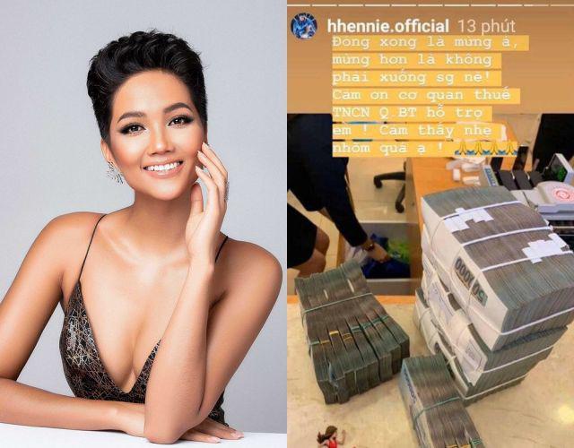 Hoa hậu HHen Niê nói về bức ảnh đóng thuế tiền tỷ: Tôi không cố ý khoe khoang-1