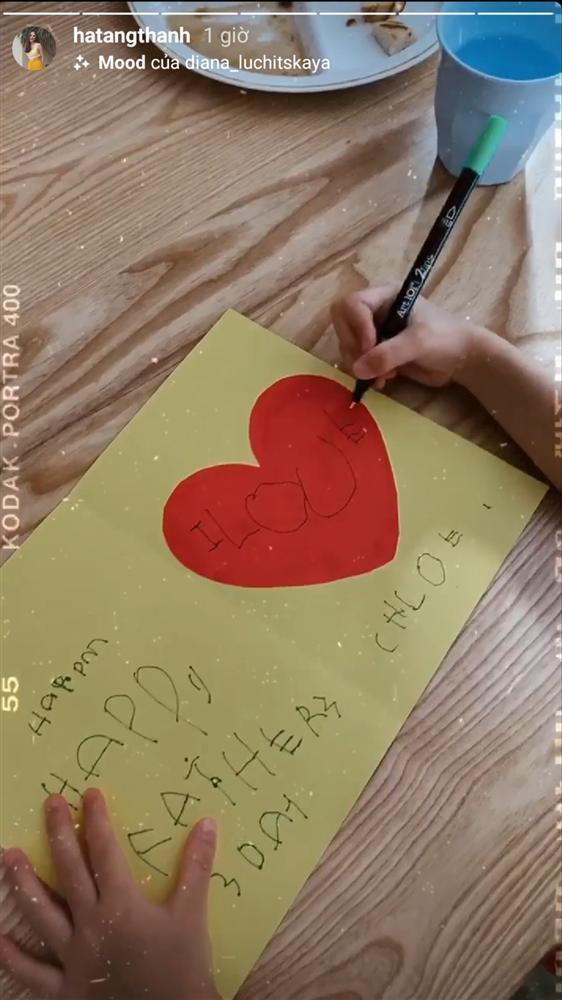 Tăng Thanh Hà hãnh diện khi con gái 3 tuổi đã đọc thông viết thạo tiếng Anh-2