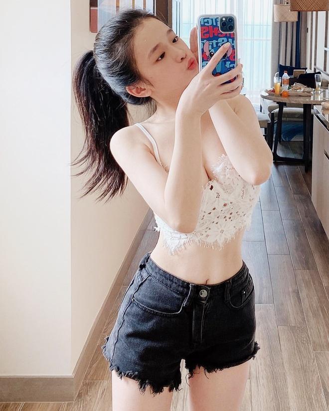 Linh Ka làm thế nào để có eo 59 cm, giảm cân còn 41 kg?-1