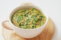 Dùng lò vi sóng làm món trứng hấp chỉ trong 10 phút cho bữa sáng ngon miệng