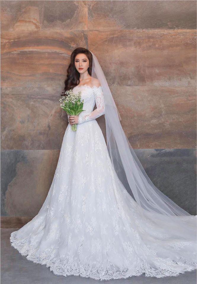 Bảo Thy lần đầu công bố ảnh cưới full bộ đẹp lung linh-1
