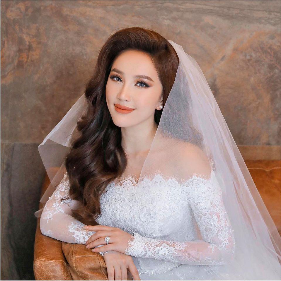 Bảo Thy lần đầu công bố ảnh cưới full bộ đẹp lung linh-2