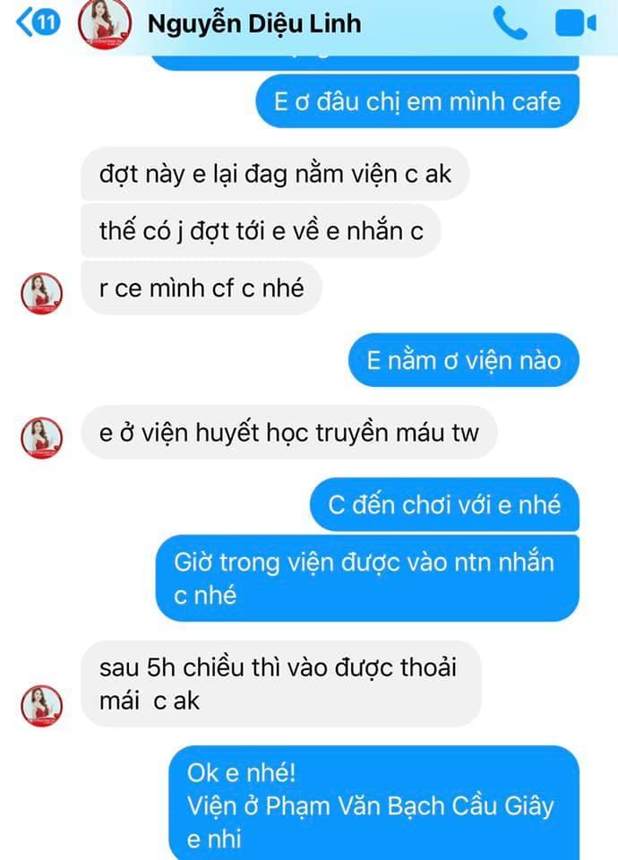 Những tin nhắn cuối cùng MC Diệu Linh trò chuyện với bạn bè trước khi lìa xa-2