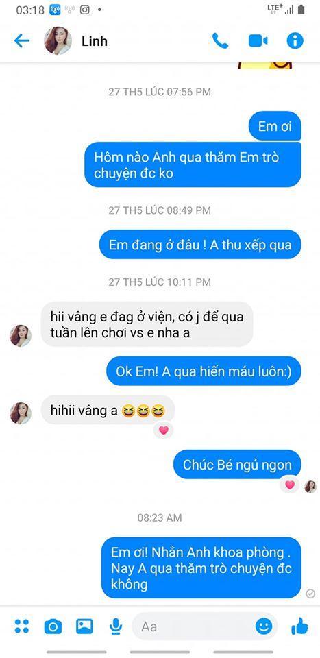 Những tin nhắn cuối cùng MC Diệu Linh trò chuyện với bạn bè trước khi lìa xa-3