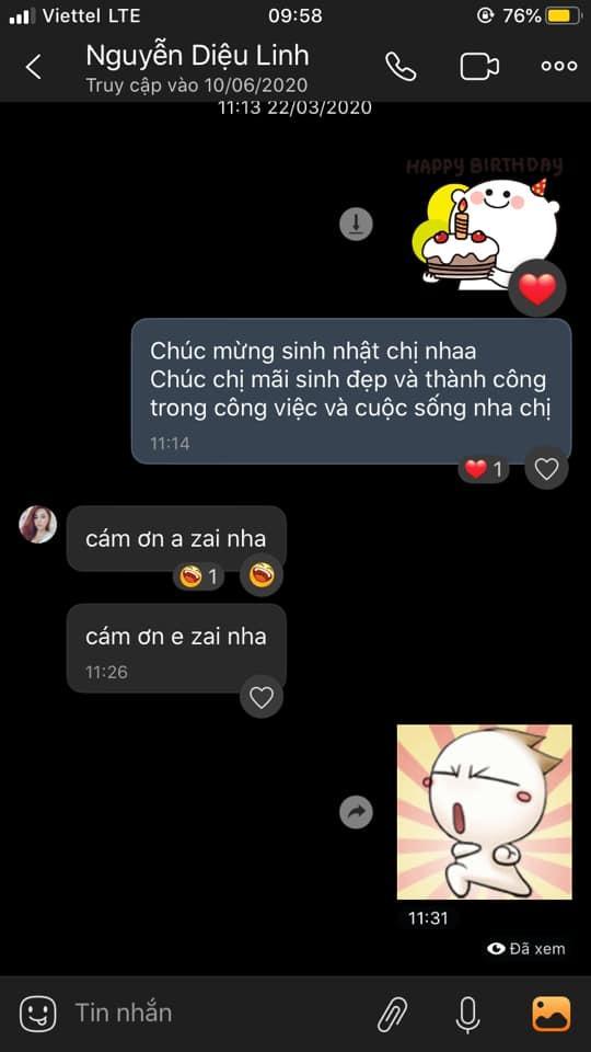 Những tin nhắn cuối cùng MC Diệu Linh trò chuyện với bạn bè trước khi lìa xa-5