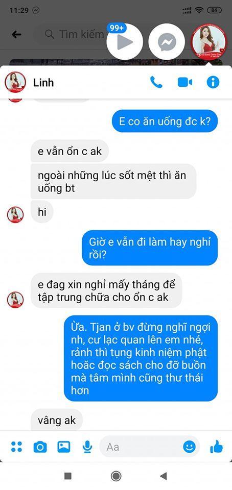 Những tin nhắn cuối cùng MC Diệu Linh trò chuyện với bạn bè trước khi lìa xa-4
