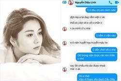 Những tin nhắn cuối cùng MC Diệu Linh trò chuyện với bạn bè trước khi lìa xa