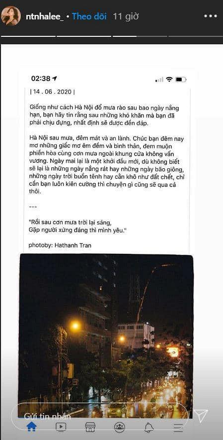 Nhìn Quang Hải vui vẻ bên Huỳnh Anh, Nhật Lê cũng tuyên bố đi tìm tình yêu mới-5