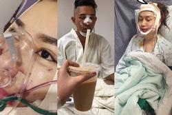 Loạt hình ảnh dàn sao Việt phẫu thuật thẩm mỹ gây nỗi sợ hãi đến ám ảnh