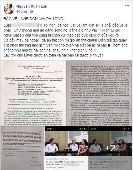 Sao Việt lên tiếng chuyện nhà Mai Phương: Ăn thịt con giờ lại ăn thịt cháu sao?-4