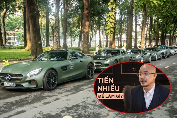 Tiền nhiều để làm gì? Để ông Đặng Lê Nguyên Vũ mang siêu xe diễu hành náo loạn Sài Gòn-1