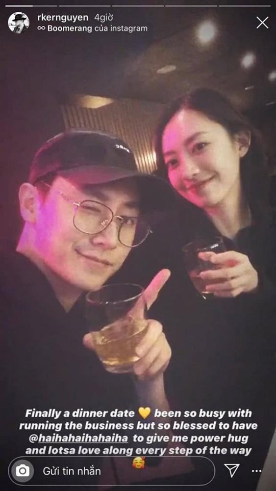 Dù bận rộn, Rocker Nguyễn không quên đi hẹn hò và gửi lời cực tình đến bạn gái-1