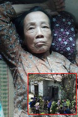 Cụ bà 80 tuổi ở Cà Mau liệt giường bị con dâu và cháu nội chở đi vứt vào nhà hoang