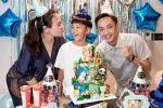 Cường Đô La cùng vợ tổ chức sinh nhật cho Subeo, Đàm Thu Trang phát tướng đã lộ chuyện bầu bí