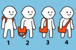 Đoán tính cách cực chuẩn thông qua cách đeo túi