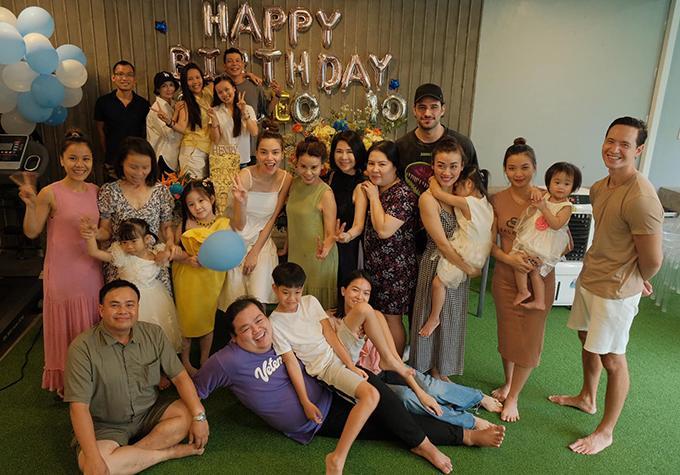 Hồ Ngọc Hà cùng Kim Lý tổ chức sinh nhật Subeo-6