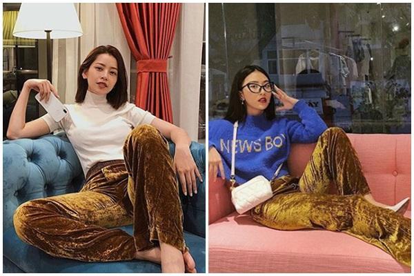 Chi Pu - Quỳnh Anh Shyn cạch mặt vẫn có gu thời trang đồng điệu-13