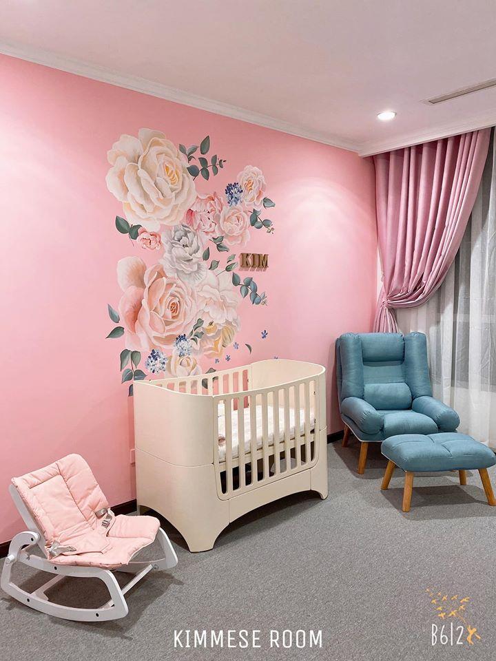 Vân Navy chuẩn bị phòng cho con gái sắp chào đời, nhìn biết ngay gia đình có điều kiện-1