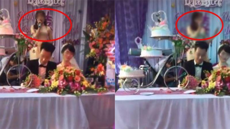 Người yêu cũ chú rể cướp mic phát biểu gắt trong đám cưới, nhà cô dâu nổi giận bỏ về-1