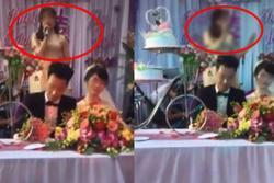 Người yêu cũ chú rể 'cướp mic' phát biểu gắt trong đám cưới, nhà cô dâu nổi giận bỏ về