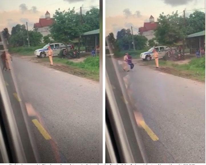 Bị CSGT Quảng Ninh dừng xe, người đàn ông tụt quần, chìa bộ phận nhạy cảm ra ăn vạ-3