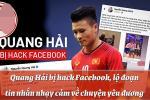 Quang Hải bị hack Facebook, lộ tin nhắn nhạy cảm về tình trường với nhiều cô gái
