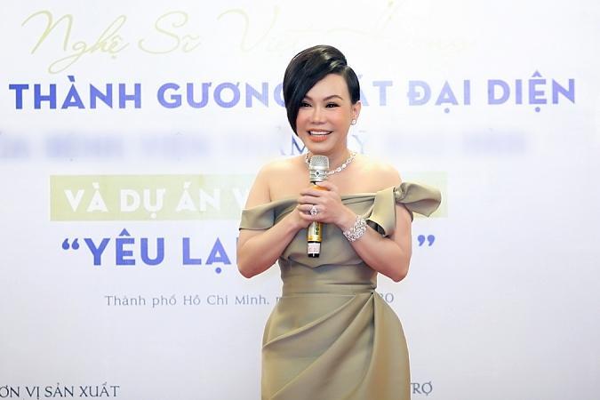 Lâm Khánh Chi đóng phim của Việt Hương