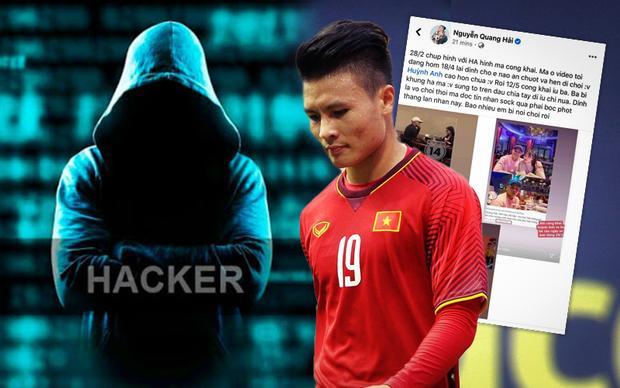 Kẻ hack facebook Quang Hải sẽ phải chịu hình phạt như thế nào?-1