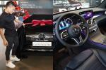 Ngắm lại Mercedes giá 2,4 tỷ đồng Quang Hải dùng để 'nhún nhảy Hồ Tây' với dàn gái xinh