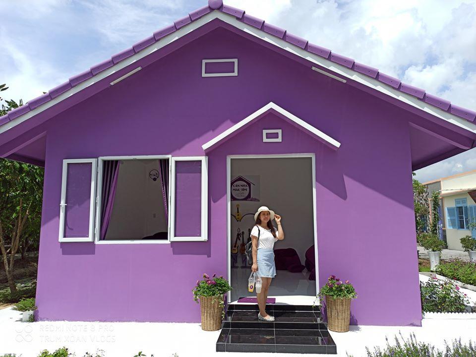 Dân mạng lùng sục căn nhà màu tím mộng mơ ở Cần Thơ-3