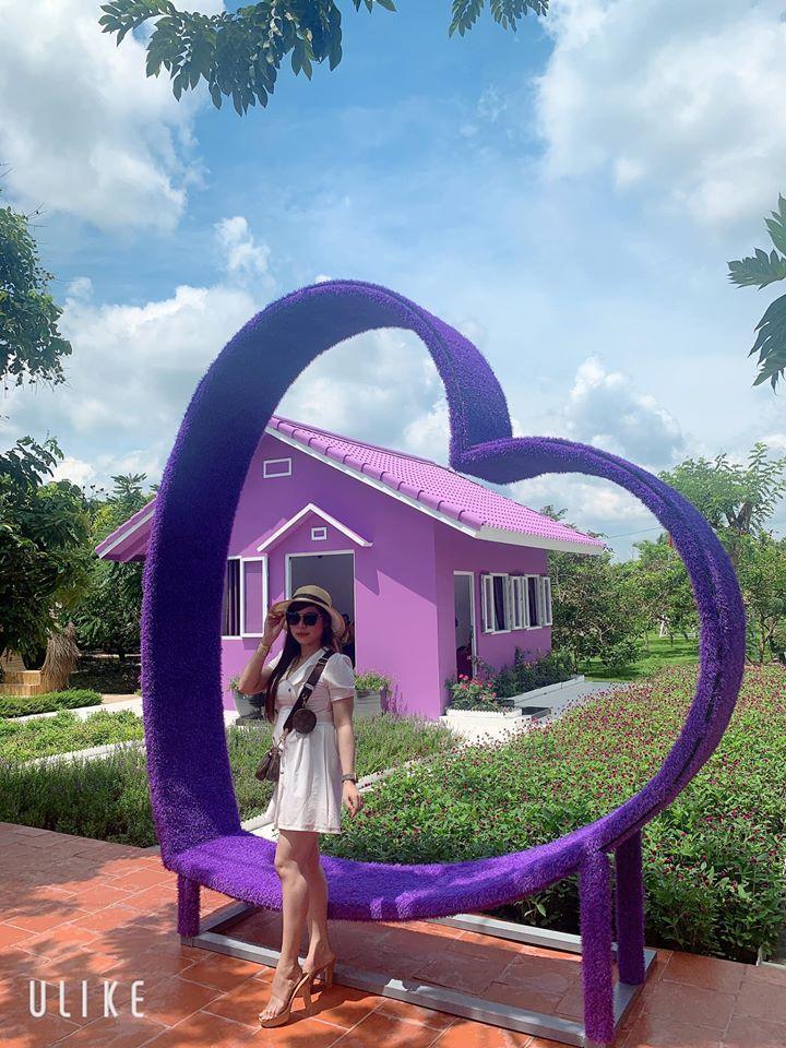 Dân mạng lùng sục căn nhà màu tím mộng mơ ở Cần Thơ-4