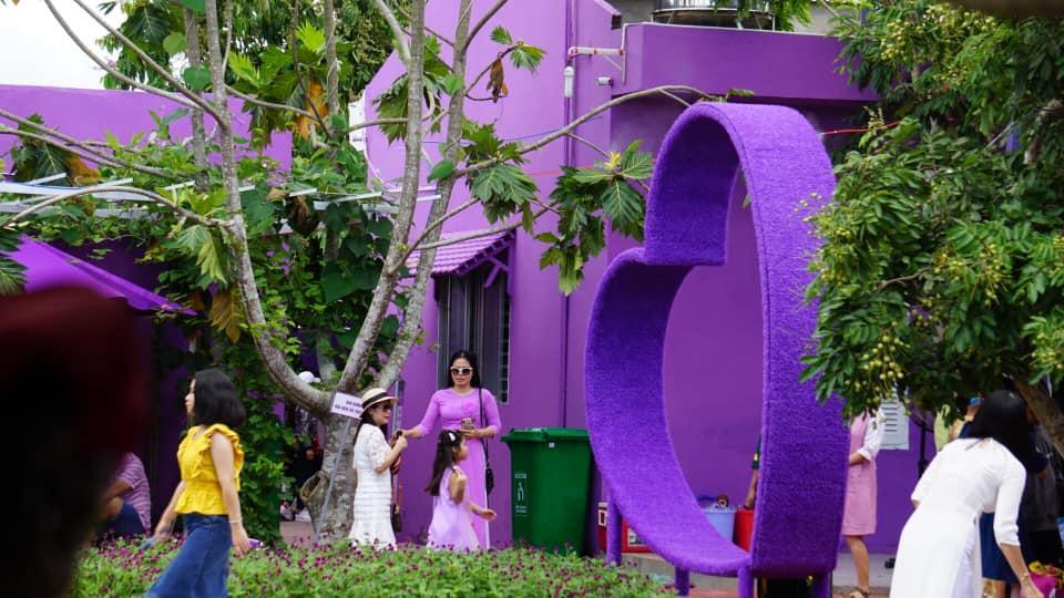 Dân mạng lùng sục căn nhà màu tím mộng mơ ở Cần Thơ-5