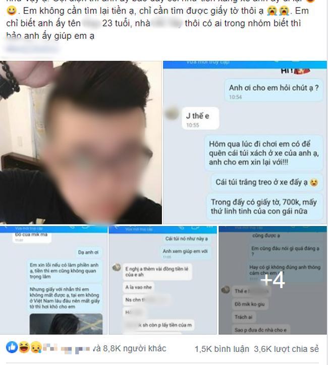 Vừa bóc phốt anh chàng hẹn hò qua mạng cuỗm đẹp túi xách, cô gái đã bị tố dựng chuyện câu like-1