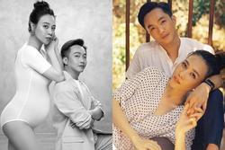 HOT: Đàm Thu Trang công khai hình ảnh bầu vượt mặt