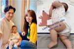 Em gái Trấn Thành lộ vòng 2 ngấn mỡ sau 4 tháng sinh con đầu lòng cho chồng ngoại quốc-9