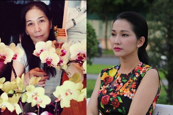 Kim Hiền đau buồn tột độ khi mẹ ruột qua đời