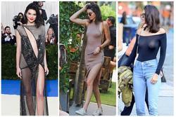 Siêu mẫu triệu đô Kendall Jenner thả rông lộ nhũ hoa làm náo loạn đường phố