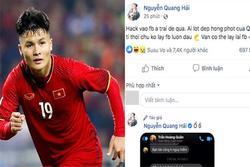 Cục an ninh mạng vào cuộc truy tìm kẻ hack Facebook cầu thủ Quang Hải