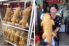 Xuất hiện lò sản xuất bánh mì cá sấu ở miền Tây, dân mạng lại tranh cãi ỏm tỏi