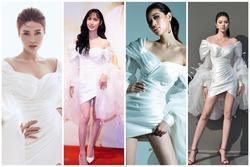 Lynk Lee mặc đầm công chúa 'đụng hàng' loạt chân dài Khánh Vân, Lan Ngọc