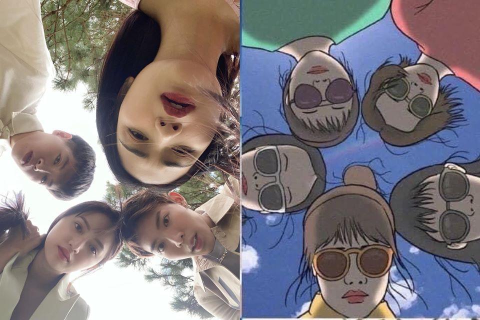 Hương Giang và nhà Hoa dâm bụt siêu lầy hướng dẫn dân mạng tạo dáng chụp ảnh khi đi du lịch-6