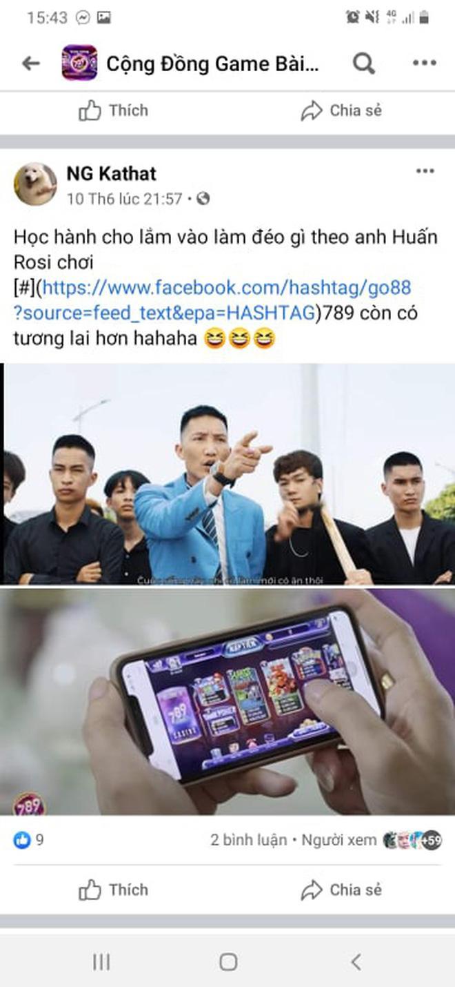 Giang hồ mạng Huấn Hoa Hồng ngang nhiên làm MV quảng cáo game đánh bạc: Có thể bị xử lý hình sự-14