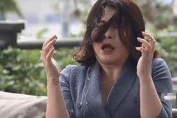 Quỳnh Kool run khi hất thẳng cốc nước vào mặt Kim Oanh